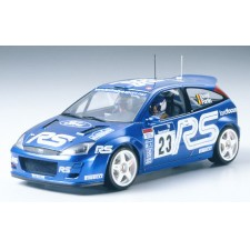 TAMIYA 田宫 静态模型 24261 フォード フォーカス RS WRC 02 パフォーマンスブルー Ford Focus RS WRC 2002 Performance Bl
